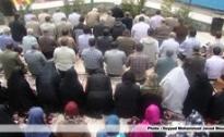 تصاویر اقامه نماز جماعت در روز 13 فروردین